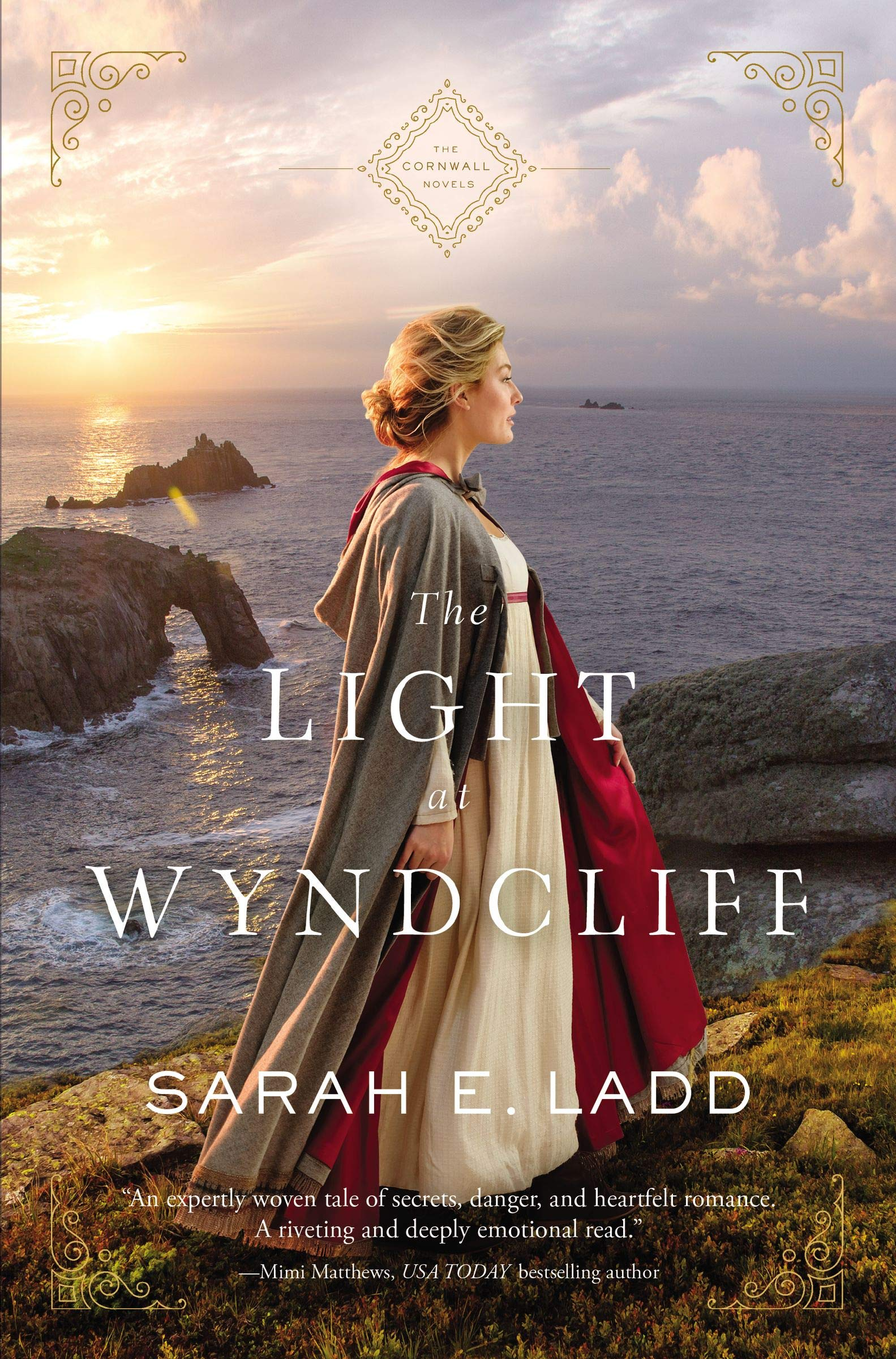 The Light at Wyndcliff by Sarah E. Ladd {Book Review}
