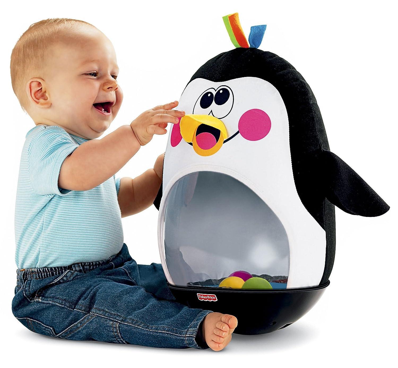 Amazon Fisher Price Go Baby Go Bat and Wobble Penguin Toys