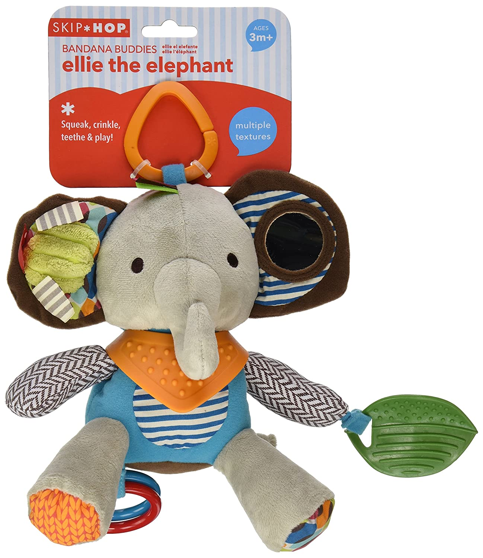 Skip Hop Bandana Buddies Chime Elephant