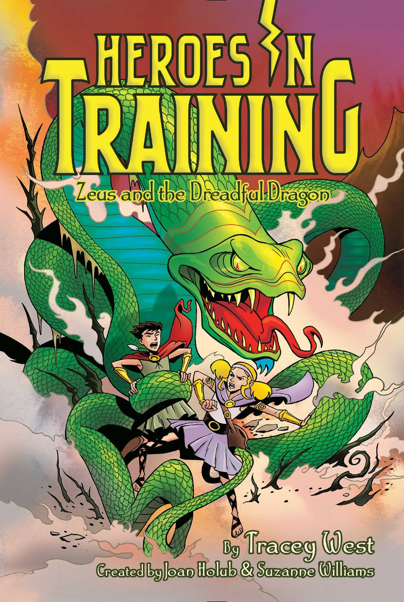 Read Online Zeus and the Dreadful Dragon (Heroes in Training) PDF