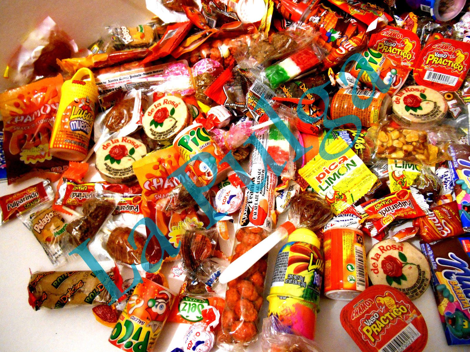 Best Mexican Pinata Candy Assortment Total of 250 Items by Mix bands