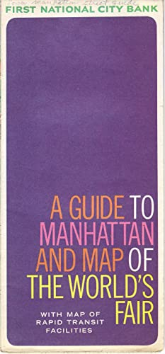 A Guide To Manhattan and Map of The World\'s Fair 1964-65 at Amazon\'s ...