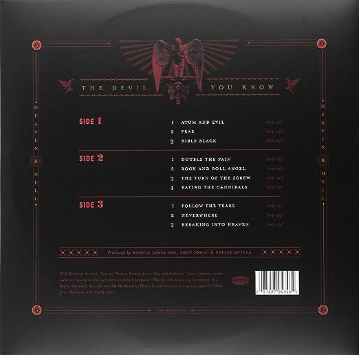 The Devil You Know (Dark Orange & Gold Vinyl/Rocktober 2016 Exclusive)