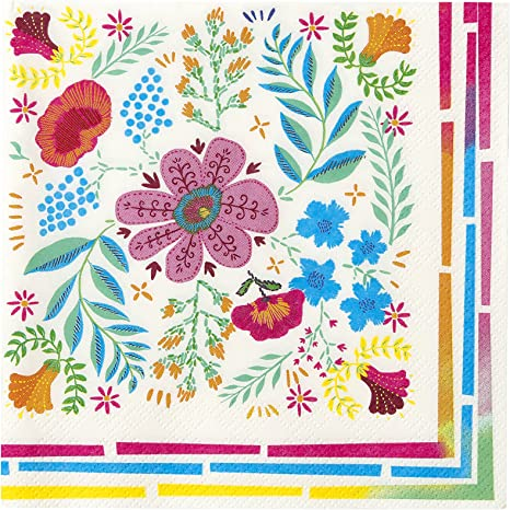 Llama Cocktail Napkins Boho Style Party Paper Napkins X 20