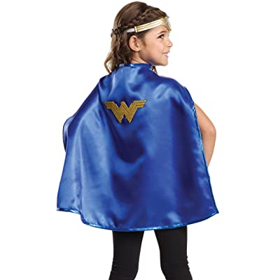 Imagine by Rubie's Wonder Woman Child's Cape & Tiara, Wonder Woman (Movie): Toys & Games