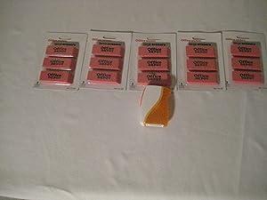 Office Depot Large Erasers & Free Sharpener (5 Pack)