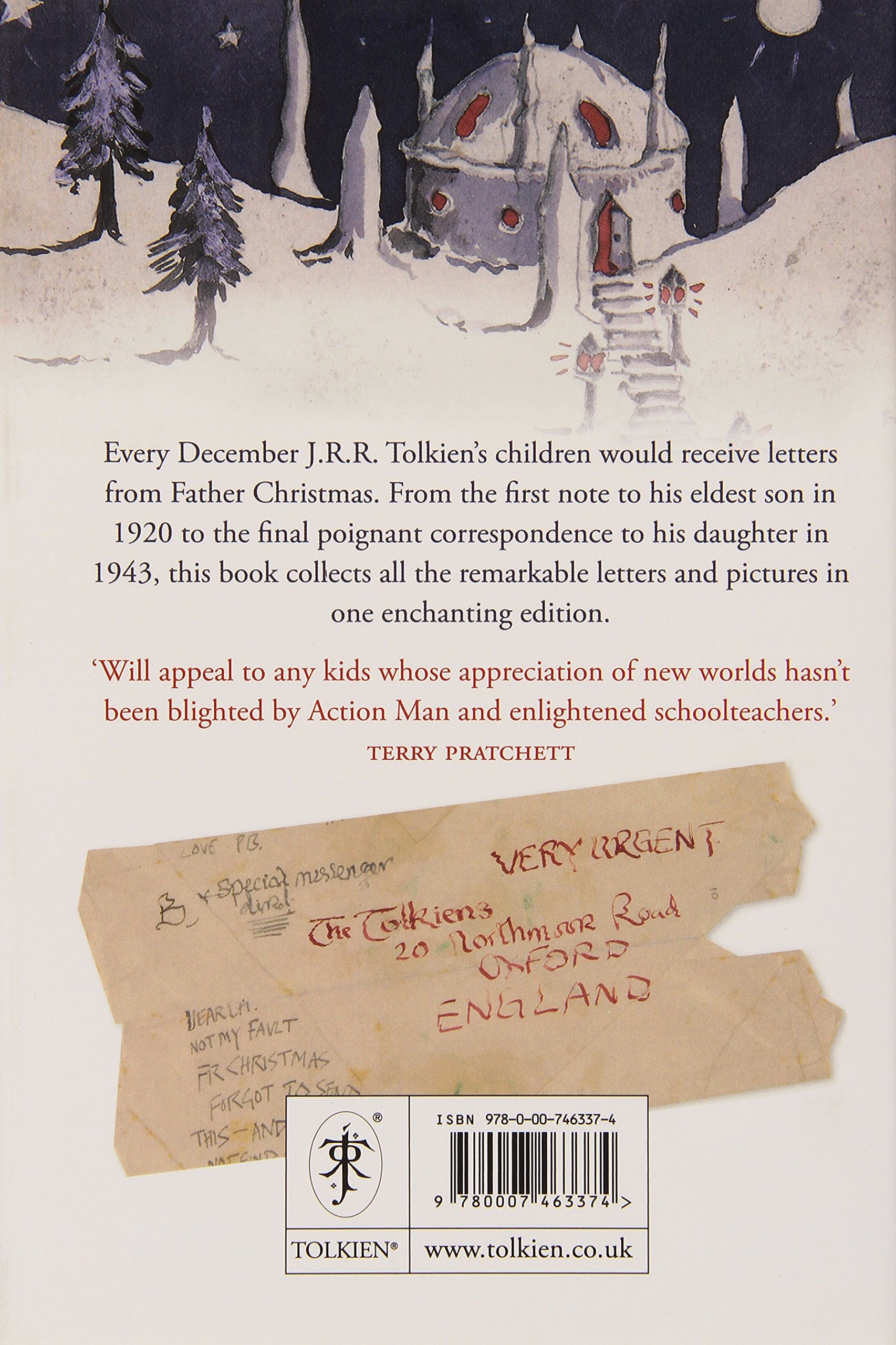 letters from father christmas amazoncouk j r r tolkien 9780007463374 books - Father Christmas Letters