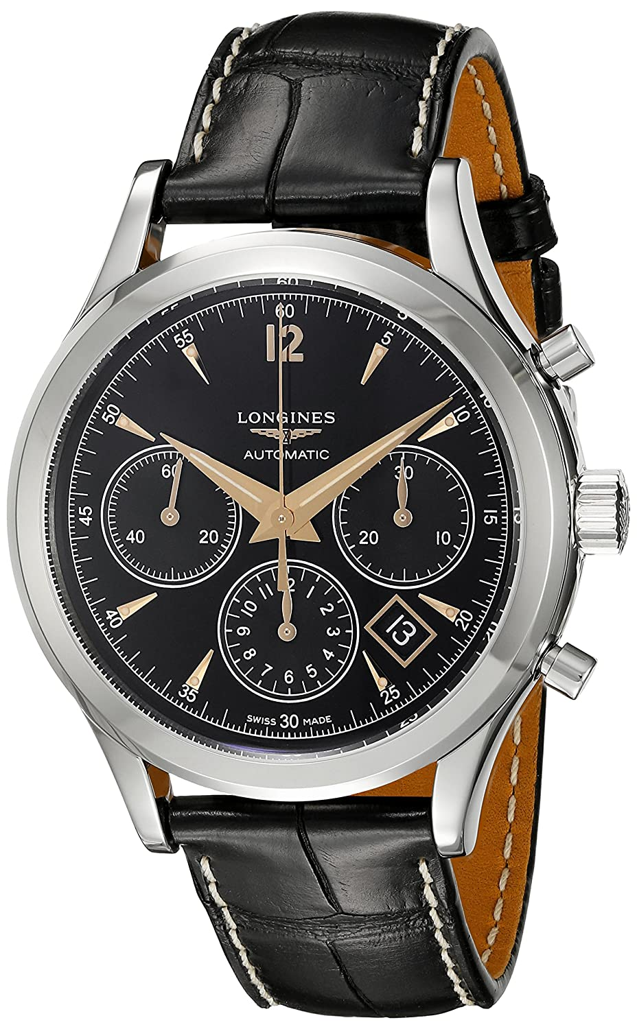 Longines Heritage Flagship Chronograph L2.750.4.56.0