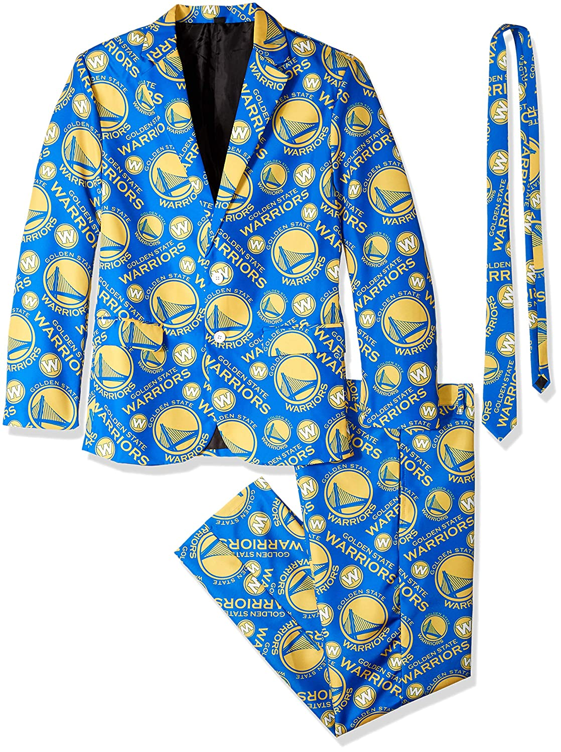 Golden State Warriors Nba Repeat Print negocios suit ...