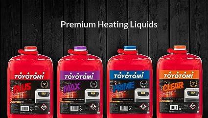 Toyotomi Clear Combustible Ultra INODORE para estufas portátil, Naranja, 18 L: Amazon.es: Bricolaje y herramientas