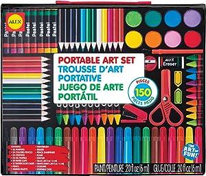 Alex Portable Art Set Kids Art Supplies
