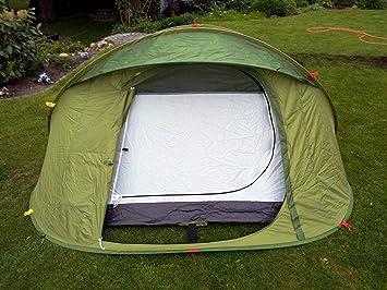 Quechua tente à lancer 2 seconds easy 3 tente de jardin vert: Amazon ...
