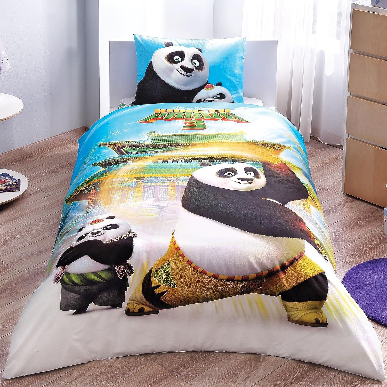 Animal Prints Panda Réversible Parure de couette 100/% coton