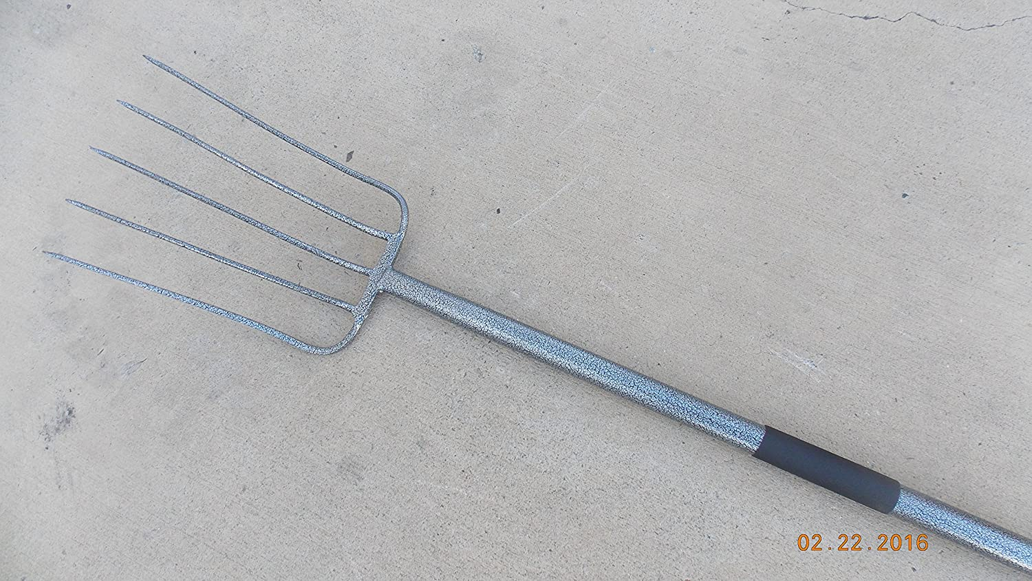 Forgecraft USA All Steel 5 Tines Manure Pitch Fork