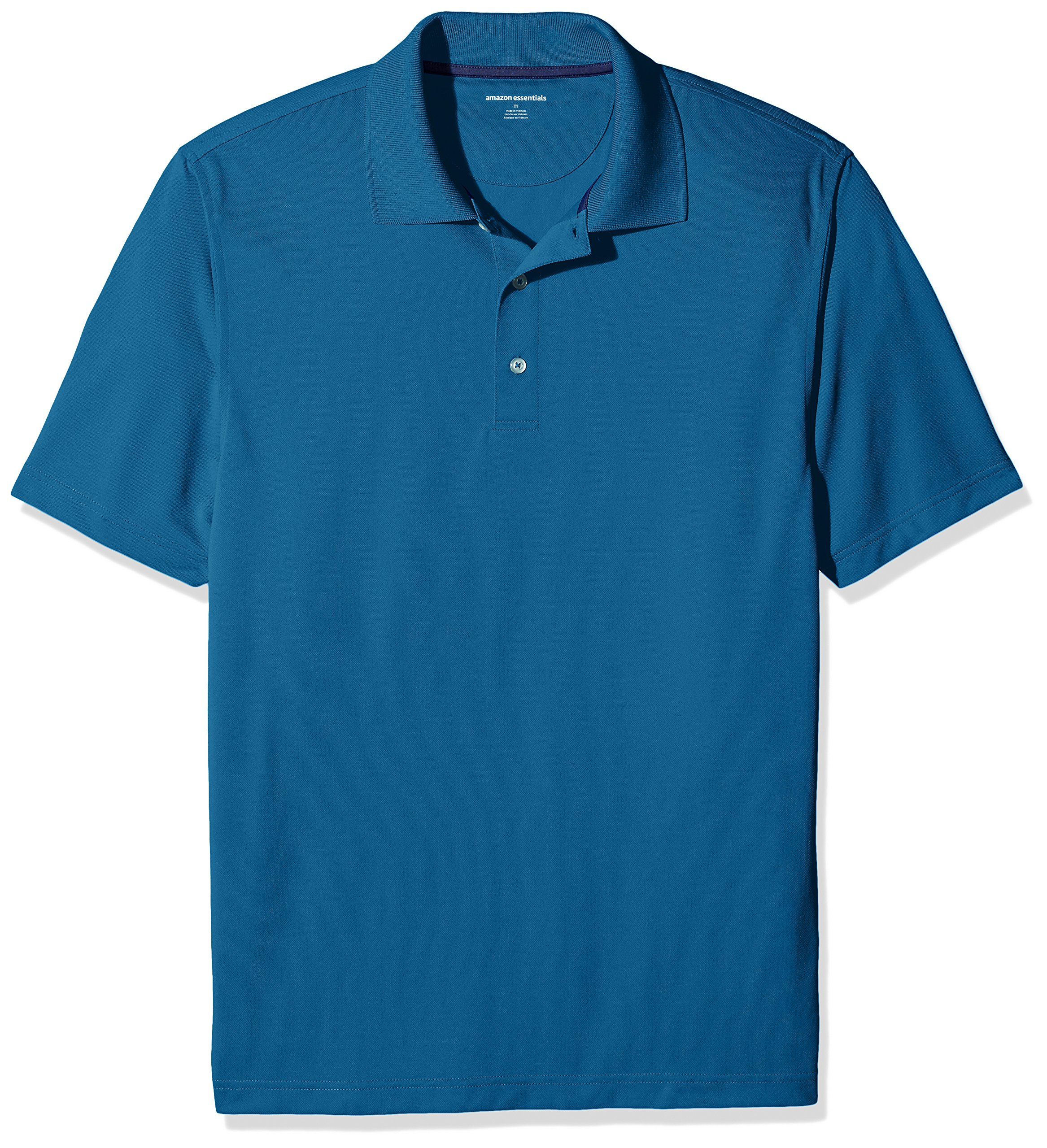 Amazon Essentials Men's Regular-Fit Quick-Dry Golf Polo Shirt, Deep Teal, XX-Large by Amazon Essentials