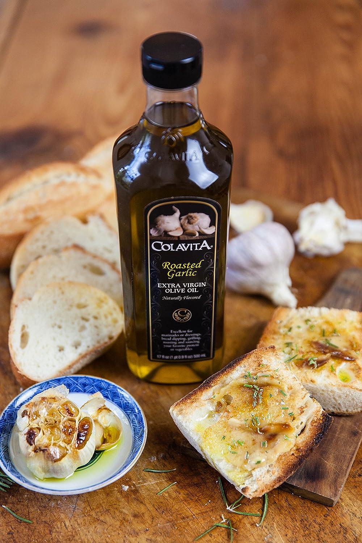Amazon.com : Colavita Roasted Garlic Extra Virgin Olive Oil, 32 ...