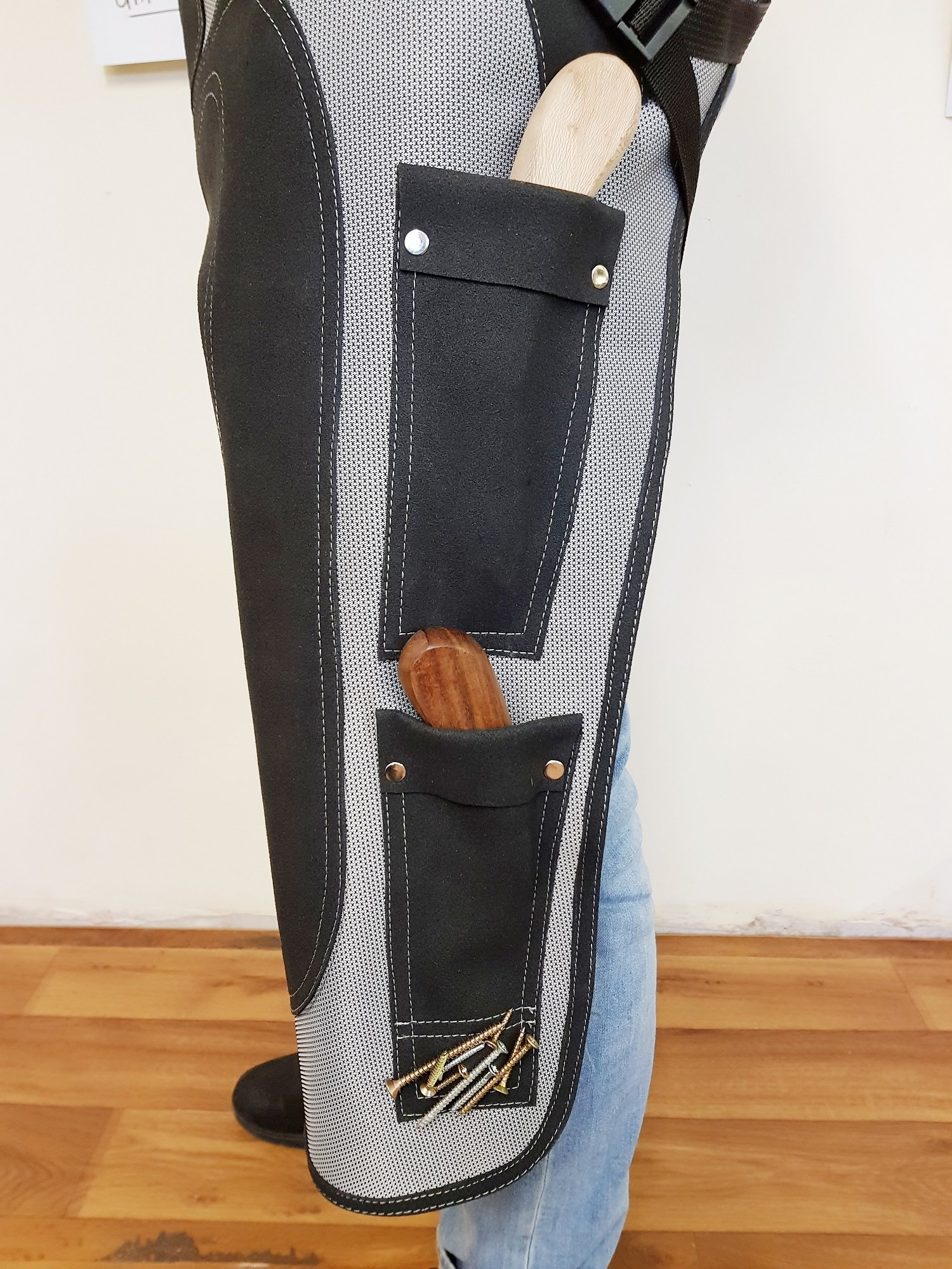 Farrier Chaps Apron Equinox | Cordura Synthetic Leather Farrier Knife Holder