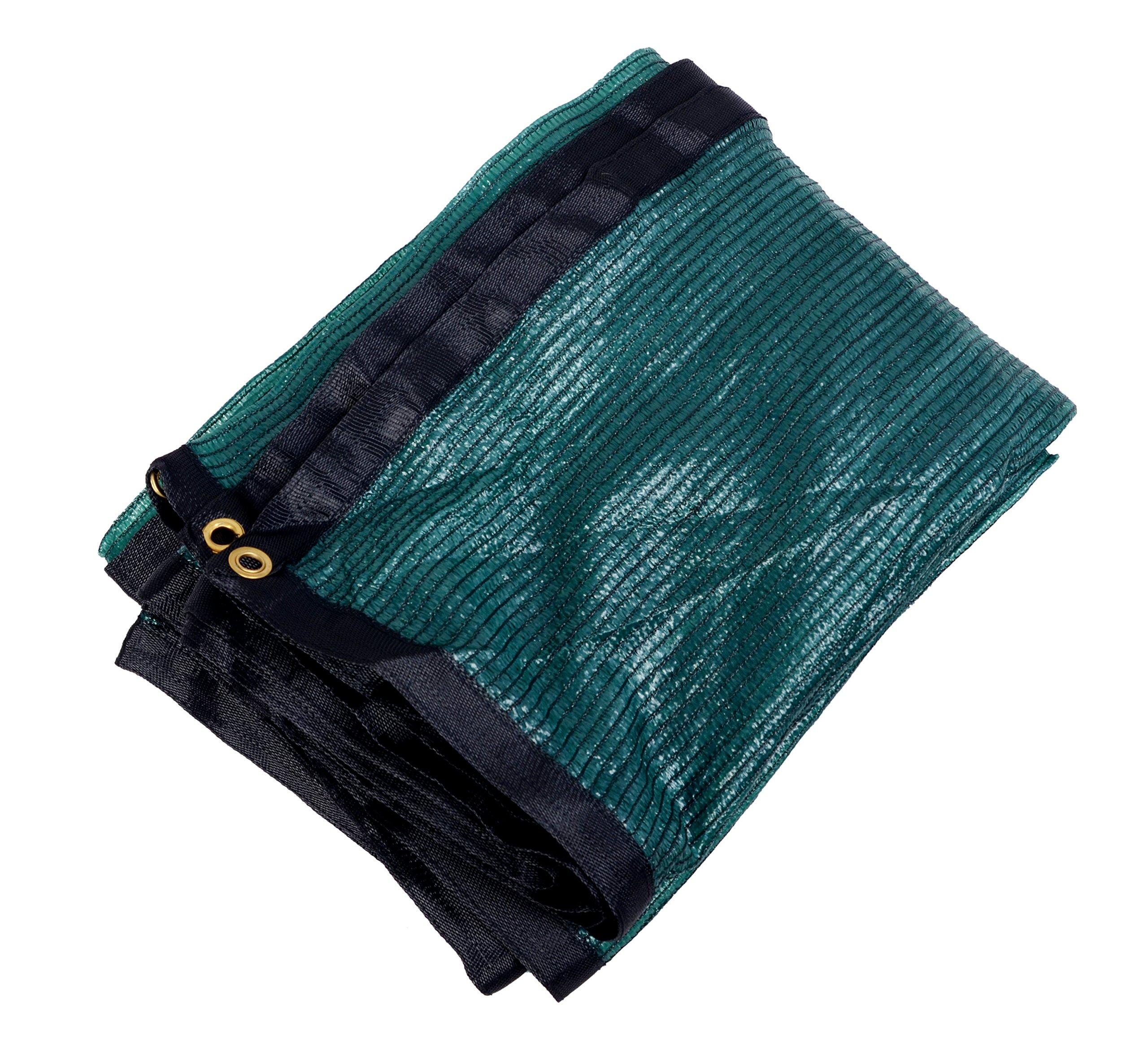 YGS 40% Green 12 ft x 36 ft Shade Cloth UV Resistant Net for Garden Flower Plant