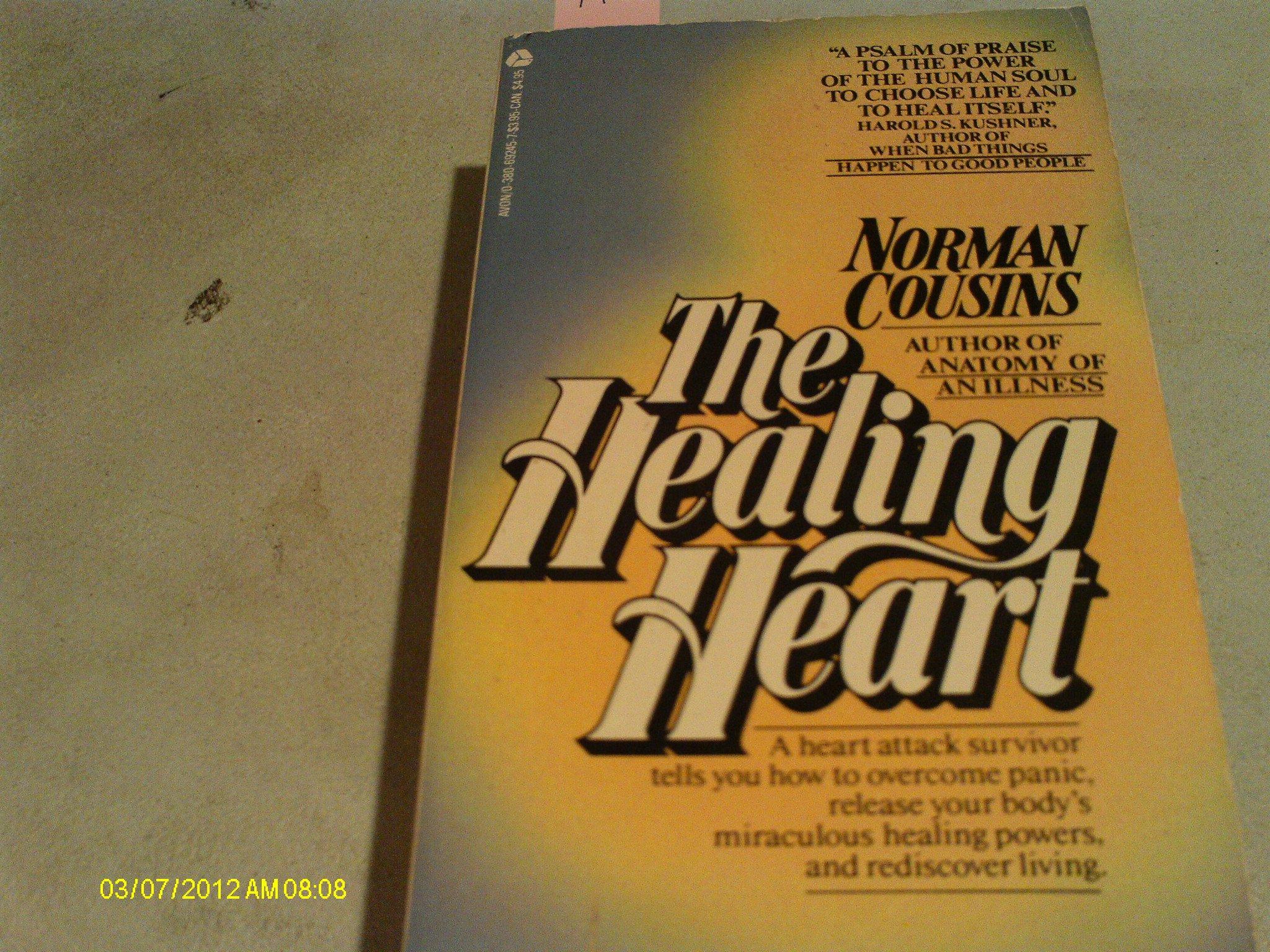 Healing Heart Norman Cousins 9780380692453 Amazon Books
