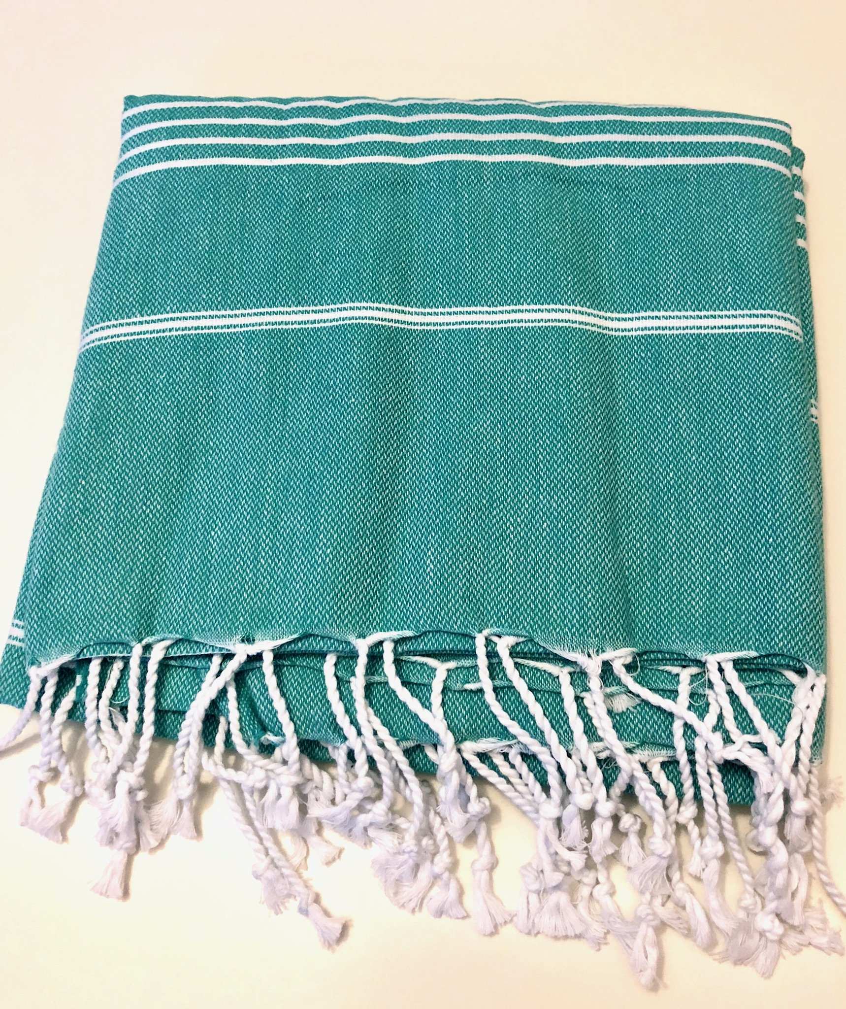 SPARKICK Turkish Peshtemal Towels 100% Cotton, Hand Woven, Light Weight Turkish Towel for Beach, Bath, Sports, spa and Yoga (Turquoise) - 100% Cotton Size 39 X 70 inches (100 X180 cm) Hand Woven - bathroom-linens, bathroom, bath-towels - 91rSC3BUEXL -