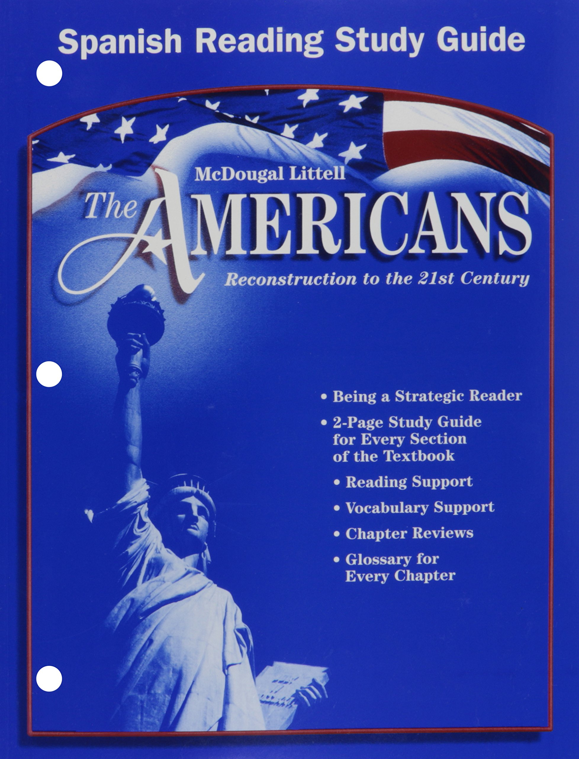 Download The Americans: Reconstruction to the 21st Century: Reading Study Guide (Spanish) (Spanish Edition) PDF