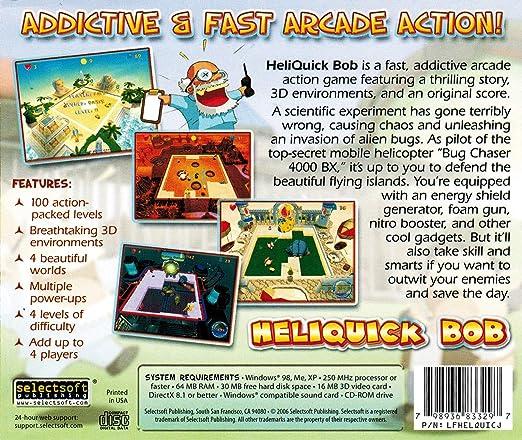 Amazon com: HeliQuick Bob: Video Games