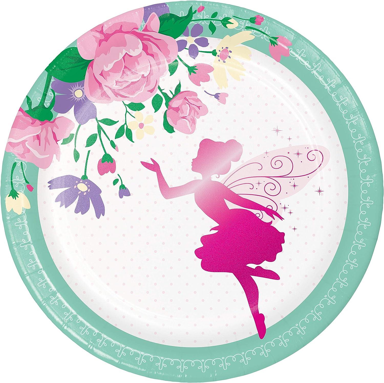 24 ct Beautiful Blossoms Floral Dessert Plates