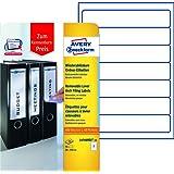 Avery Zweckform L4760REV-10 Ordneretiketten (A4, Ordnerrücken, Papier matt, 70 Stück, 38 x 192 mm) 10 Blatt weiß