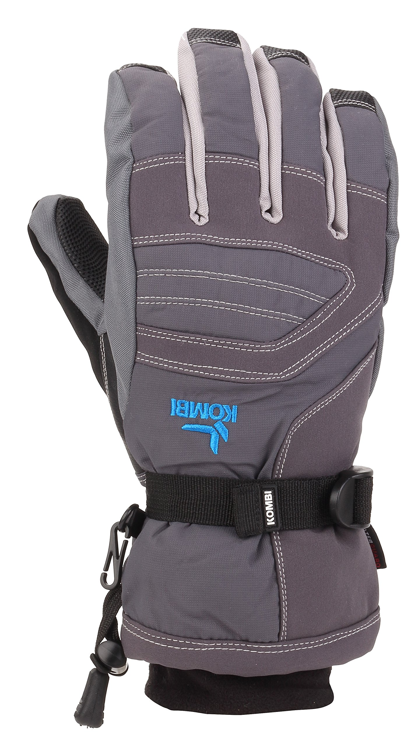 Kombi Women's Storm Cuff III Cold Weather Gloves, X-Large, Gunmetal