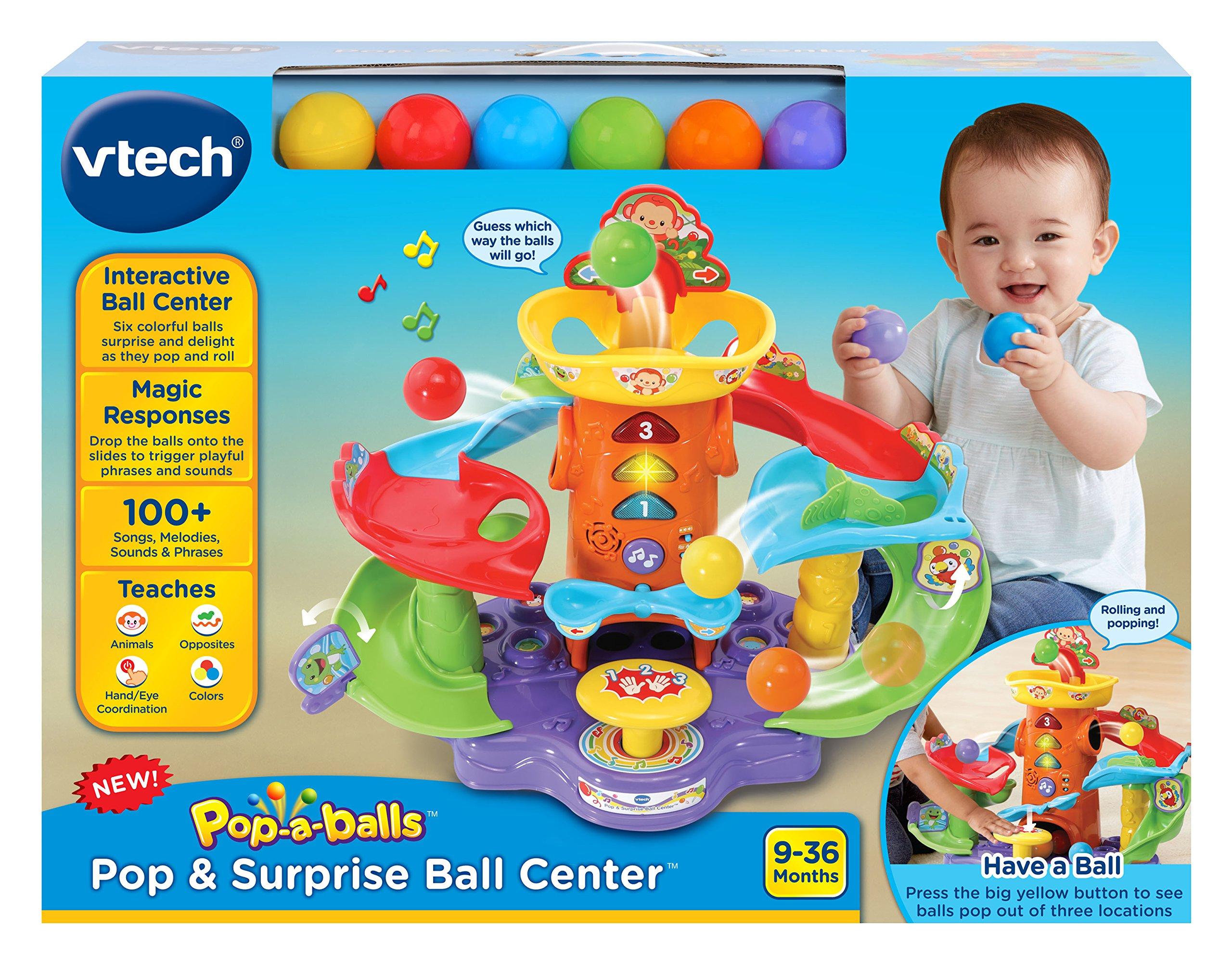 VTech Pop-a-Balls Pop and Surprise Ball Center by VTech (Image #7)