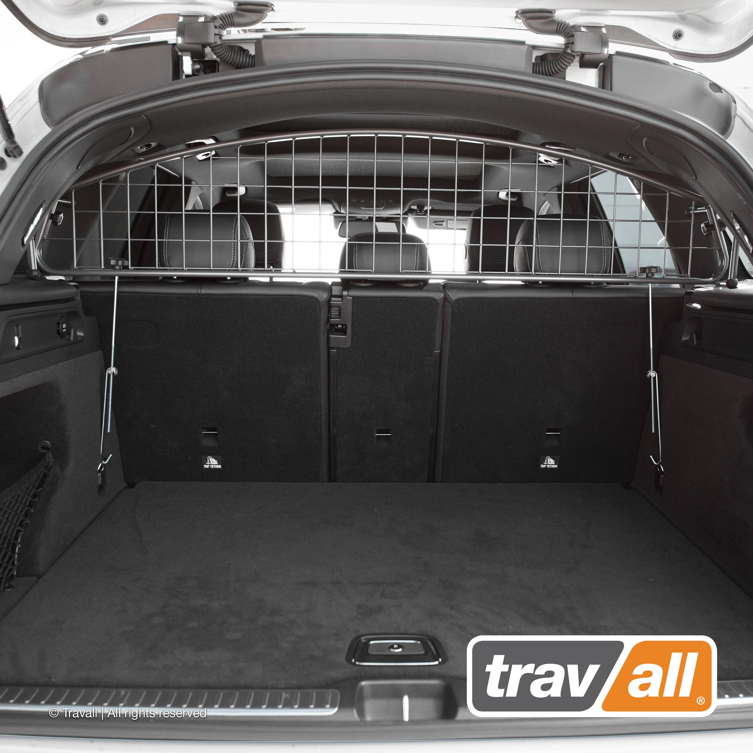 Travall Guard Compatible with Mercedes-Benz GLC-Class (2015-Current) TDG1499 - Rattle-Free Steel Pet Barrier by Travall