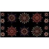 Kismet Kismet Manadals 23.5in Panel Purple/Multi Fabric By The Yard