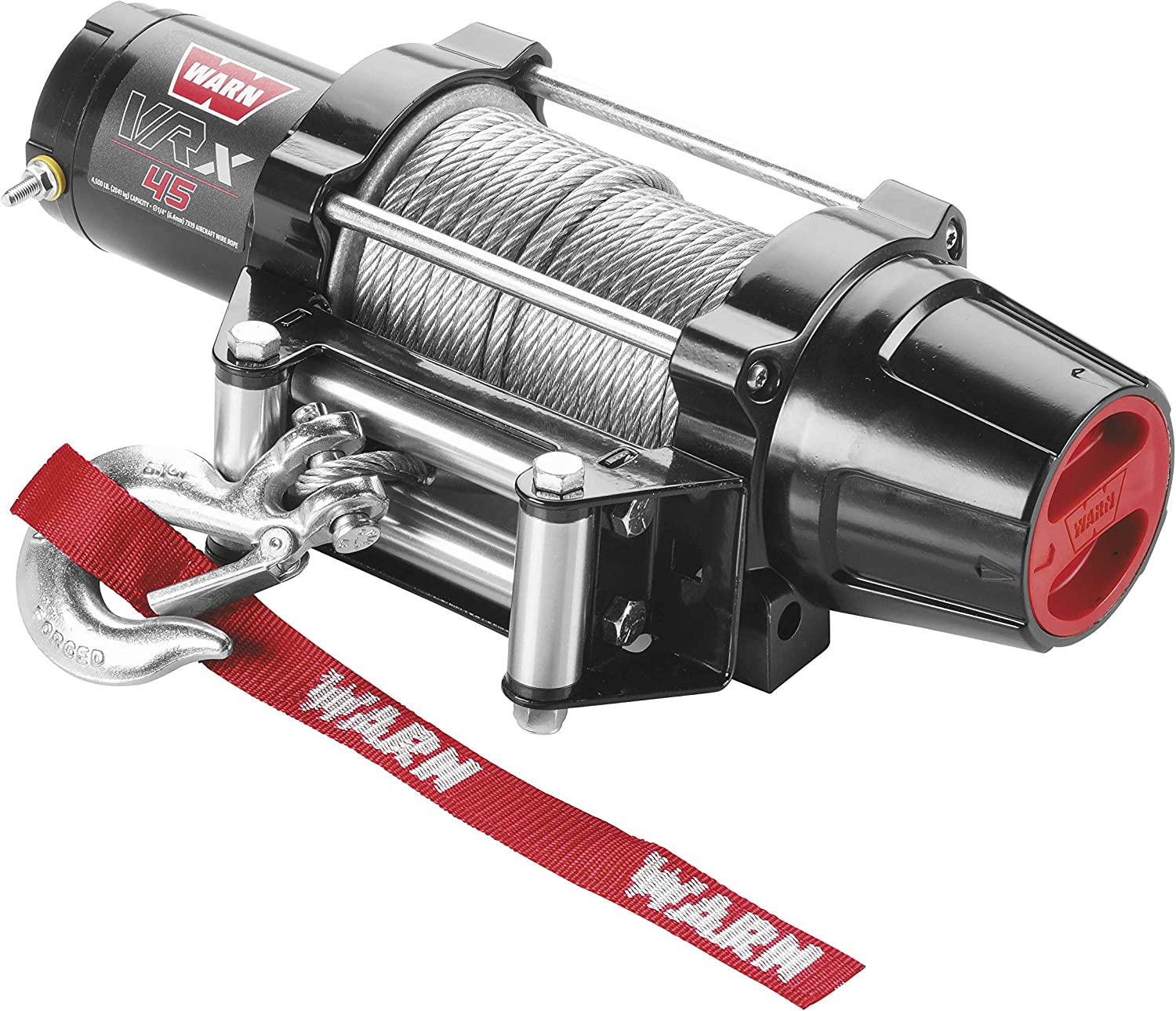 WARN 101045 VRX 45 Powersports Winch With Steel Rope