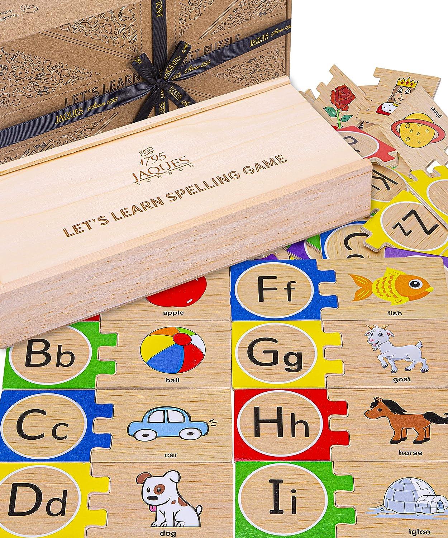 Jaques of London Lets Learn Alphabet Puzzle