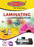 Bambalio LAM-080 Professional Thermal Laminating Pouch A4 Size / 80 Microns /100 Sheets