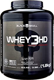 Whey 3HD - Baunilha, Black Skull, 1800 g