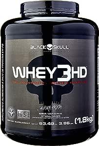 Whey 3HD - Baunilha, Black Skull, 1800 g