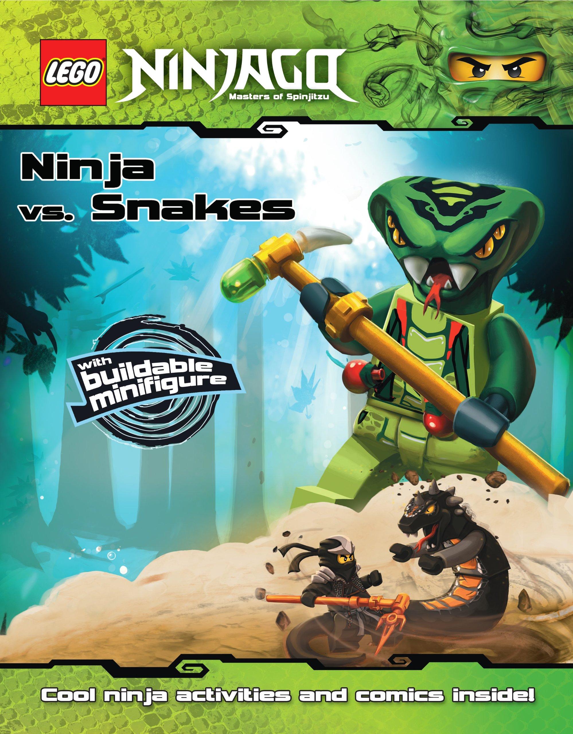 Ninja vs. Snakes (LEGO Ninjago): Ameet Studio, Ameet Studio ...