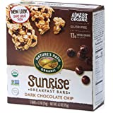 Nature's Path Organic Gluten Free Chewy Granola Bars, Dark Chocolate Chip, 6.2 Ounce Box