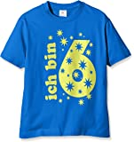 Coole-Fun-T-Shirts Jungen T-Shirt Ich Bin 6 Jahre !