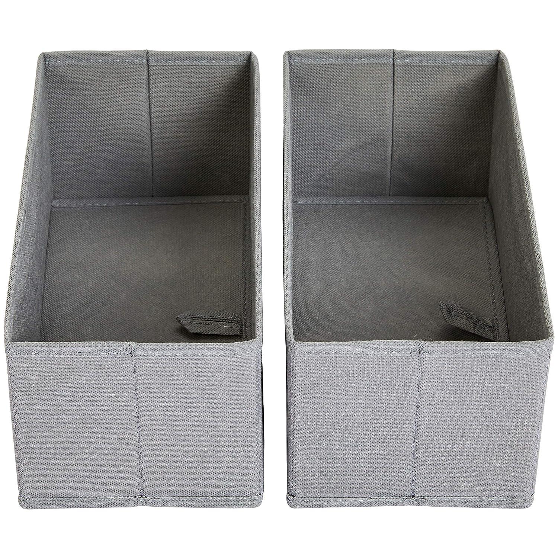 Organizer in tessuto per cassetto Basics Set di 6