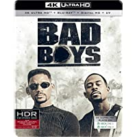 Bad Boys (Steelbook) (4K UHD + Blu-ray + Digital HD + UV) (2-Disc) (Region Free + Fully Packaged Import)