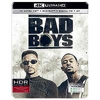 Bad Boys (Steelbook) (4K UHD + Blu-ray + Digital HD + UV) (2-Disc) (Region Free + Fully Packaged Import)