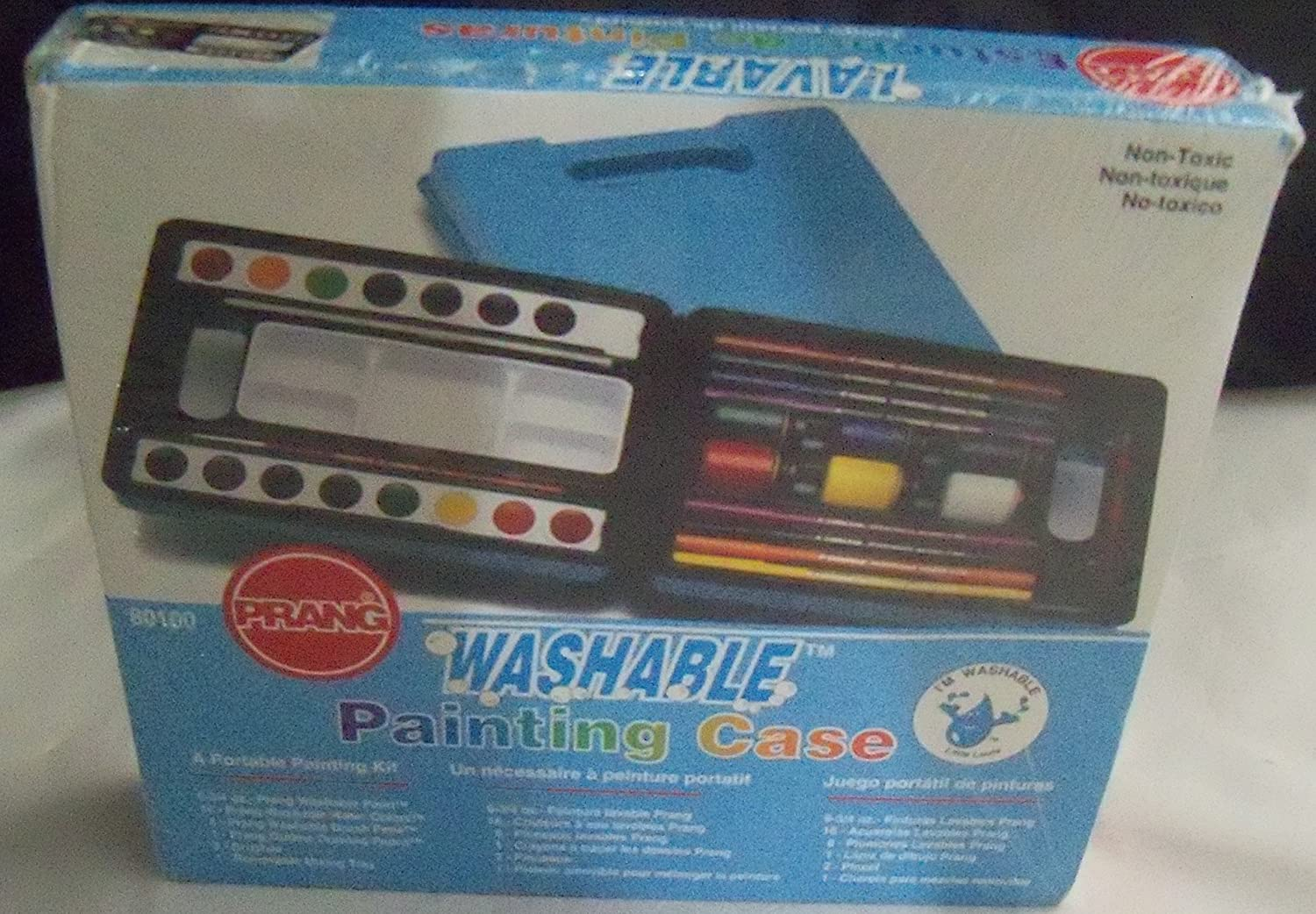 A Portable Painting Kit By Prang Washable Painting Case}