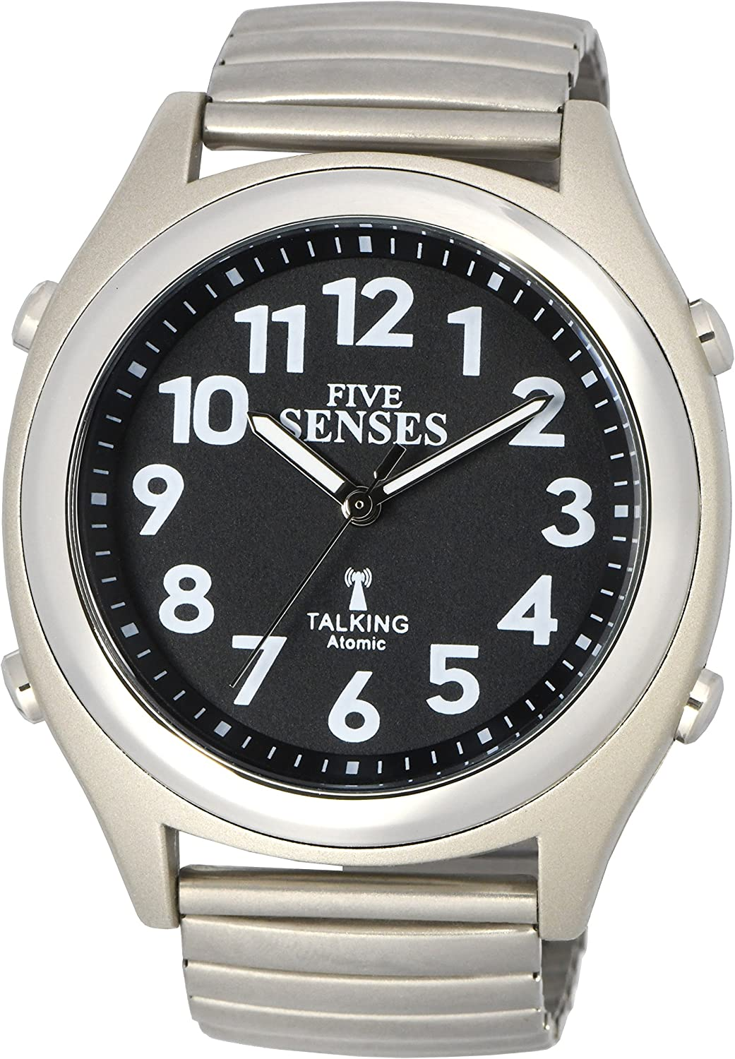 Amazon.com: Atomic! Talking Watch - Sets Itself FIVE SENSES Unisex Talking  Watch 1100: Watches