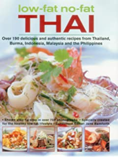 Low fat no fat thai over 150 delicious and authentic recipes from low fat no fat thai south east asian cookbook forumfinder Image collections