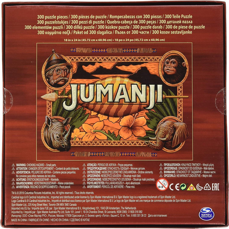Cardinal Games Jumanji-Puzzle de 300 Piezas, (Spin Master Toys Ltd ...