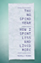 The No Spend Year: How you can spend less and live more