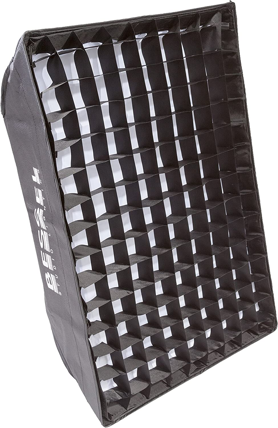 Bessel 90 x 22 cm Strip Softbox with Double Diffusers and 4 cm Honeycomb Grid for EL//Elinchrom Fit Lamps Silver