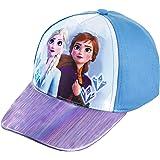 Disney Frozen Girls Elsa and Anna Baseball Cap Blue